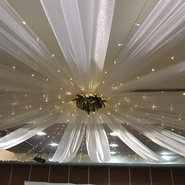Grand Roof Draping