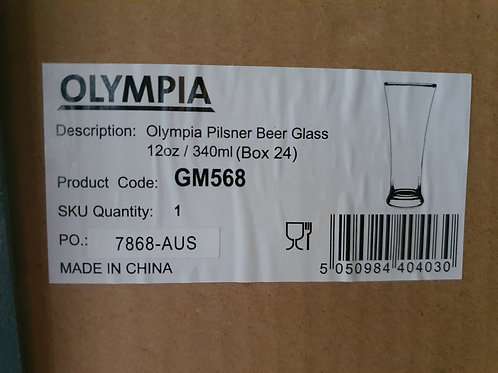 Beer Glasses Per Box