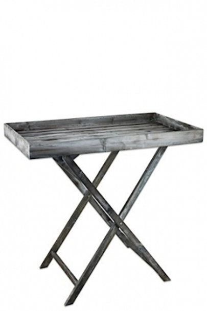 Grey Serving Table