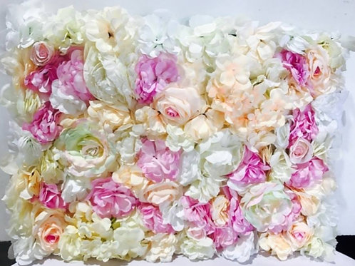 Poppy Pink Flower Wall