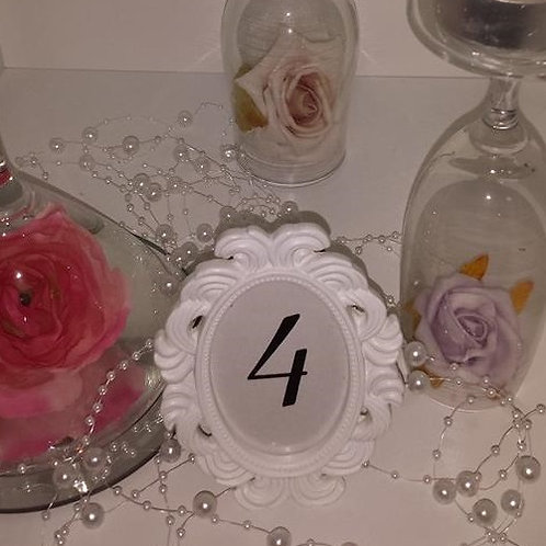 Scroll Table Number