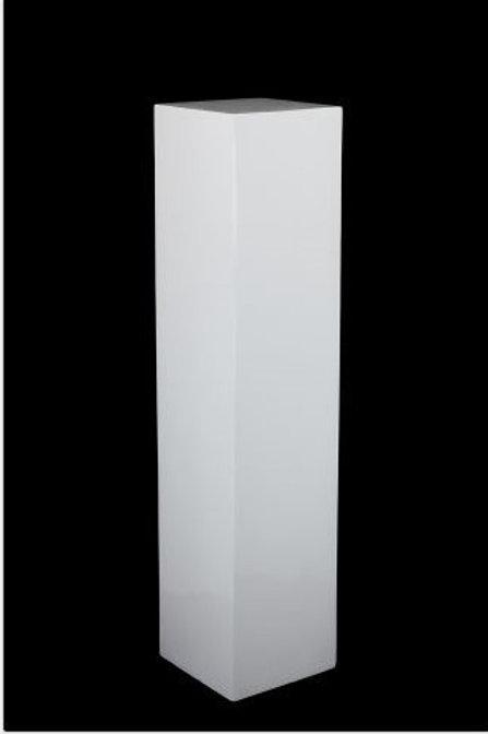 White Straight Plinth X Large