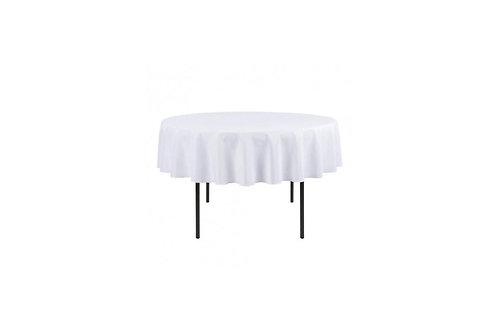 White Round Tablecloths 260cm