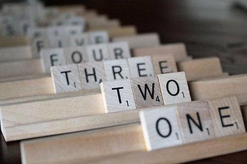Scrabble Set