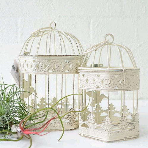 Rustic Bird Cage Large