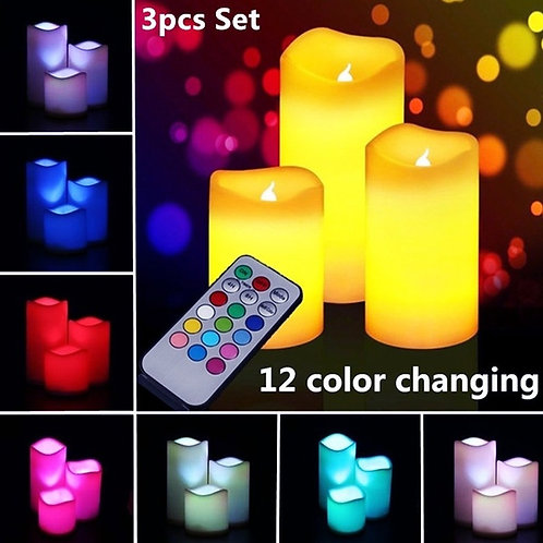 Colour Changing Candles Box Set