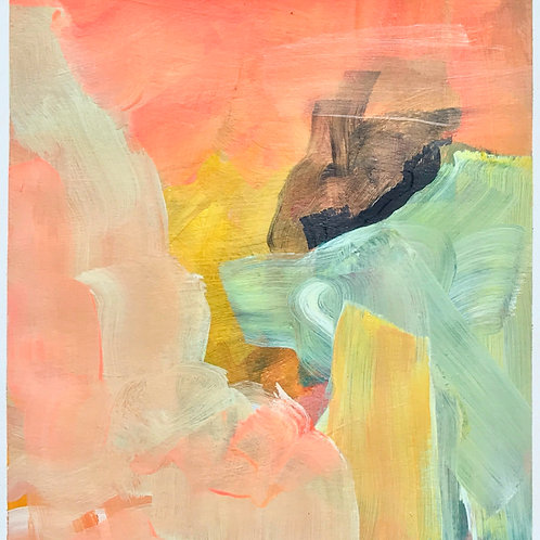 Untitled (Pink, Blue, Yellow)