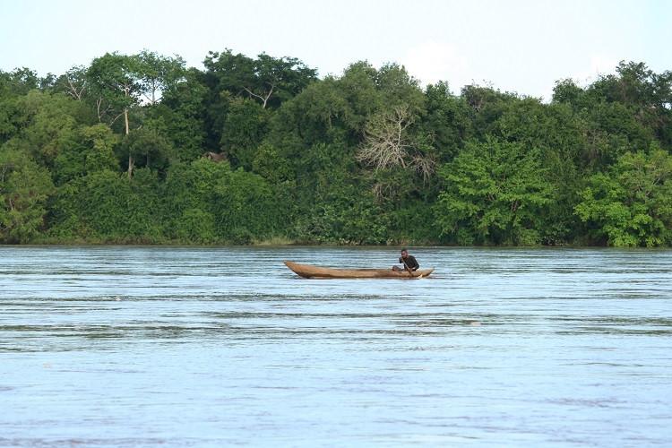Fleuve Rufiji en Tanzanie