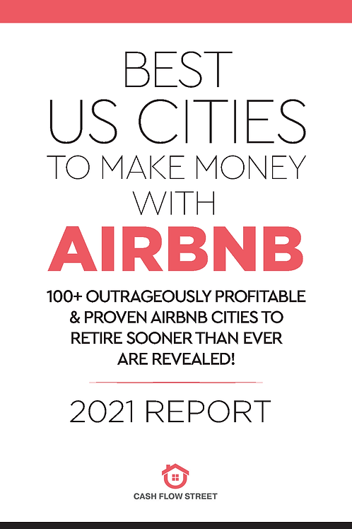 The Best Cities to Make Money with Airbnb Report