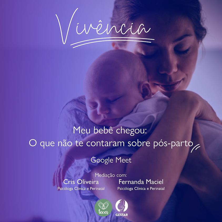 Vivência: Meu bebê chegou: O que não te contaram sobre pós-parto.