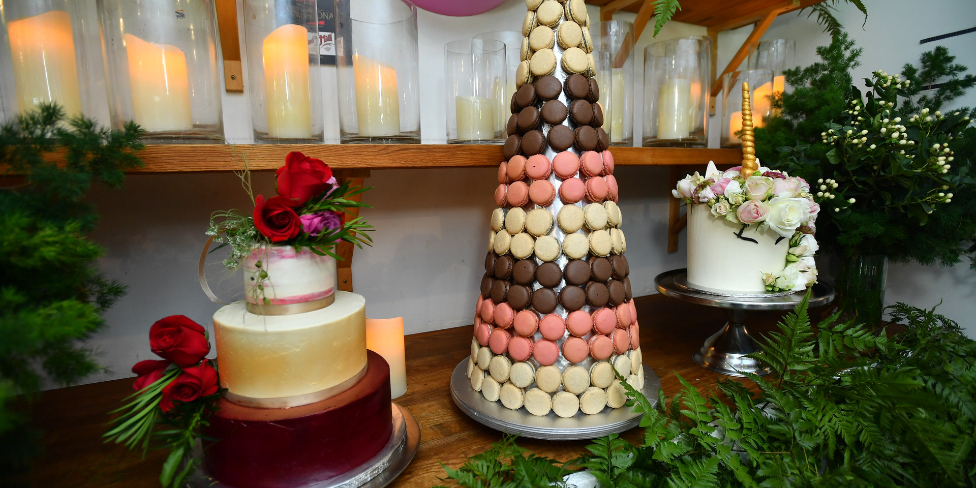 Cakes and Macarons
