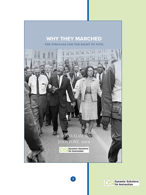 Why They Marched: Student Reader BUNDLE (6)