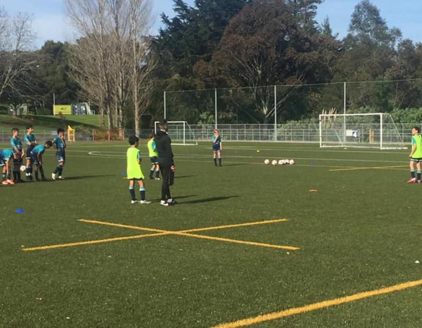 NZ Football Coaching Clinic