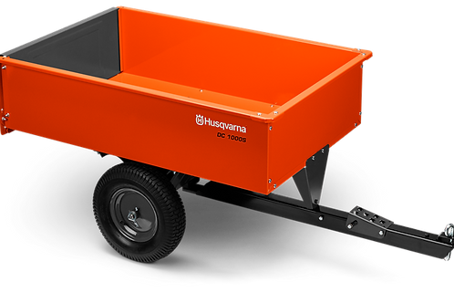 12ft Steel Swivel Dump Cart