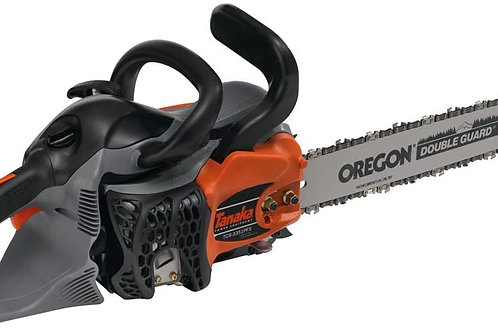 """Tanaka Chainsaw with 16"""" Bar. Model number is TCS-3351PFS"""