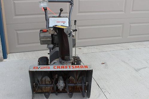 "Used Craftsman 25"" Snowblower W/ Electric Start."