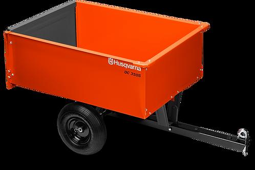 Husqvarna 9ft Steel Dump Cart