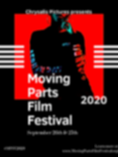 Moving Parts Film Festival Poster | September 26th & 27th on FILMOCRACY