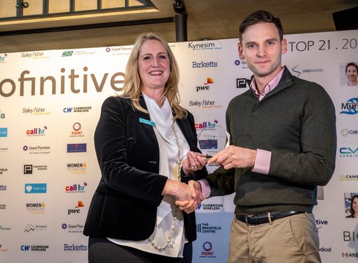 Award for innovation in Cambridgeshire and East of England
