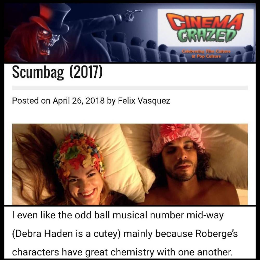 Scumbag Review in Cinema Crazed