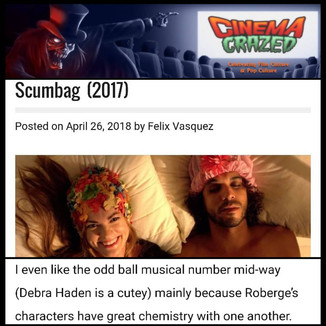 Scumbag reviewed by Cinema Crazed