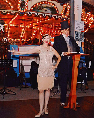 Dr. Panacea's Miracle Elixir at the 1920s Street Jam 9/17/17