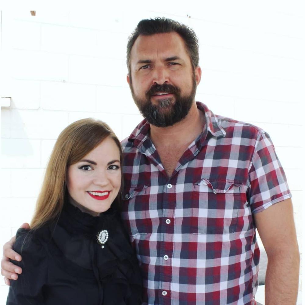 Debra Haden and Mark Roman