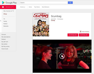 Video on Demand! Scumbag now available on 13 platforms!