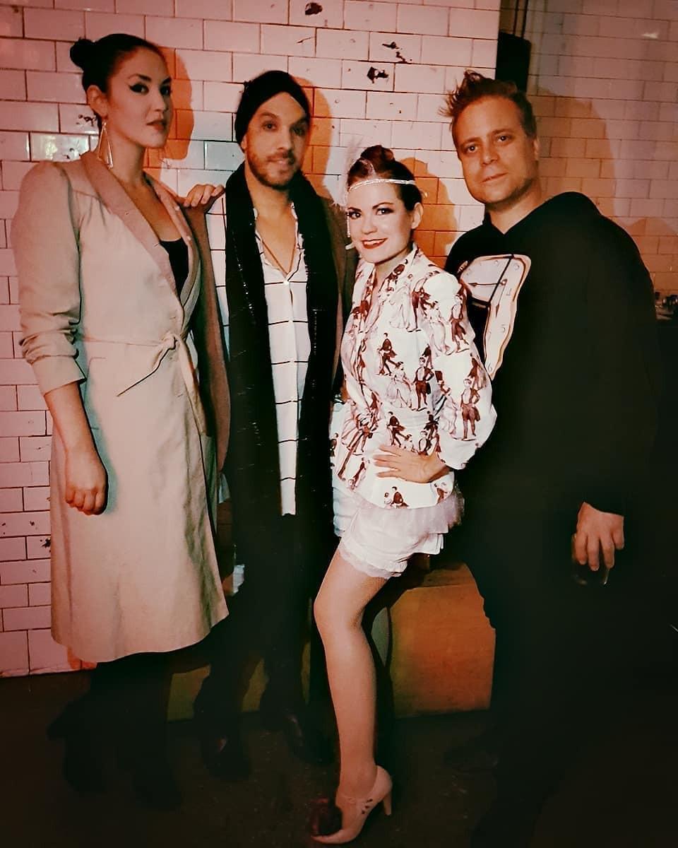 Darling Wendy, Princess Frank, Debra Haden, and Filmmaker Mars Roberge