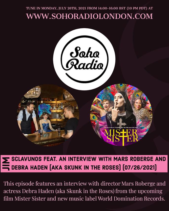 Soho Radio London Interviewed by Jim Sclavunos