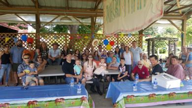 family reunion and birthday party Hurds Family Farm