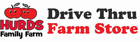 pick up route drive thru farm store logo