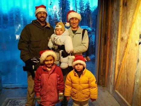 Family Christmas Outing