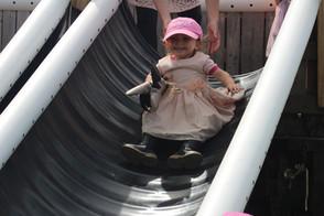 obstacle course slide ninja warrior inspired