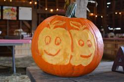 pumpkins carved hff