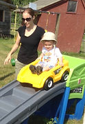Small Famil Pass, best used with a toddler and a parent. Visit the farm as many times as you want with your child.