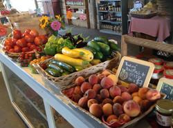 retail summer vegetables