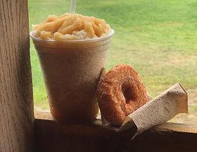 apple cider slushy donut hudson valley n
