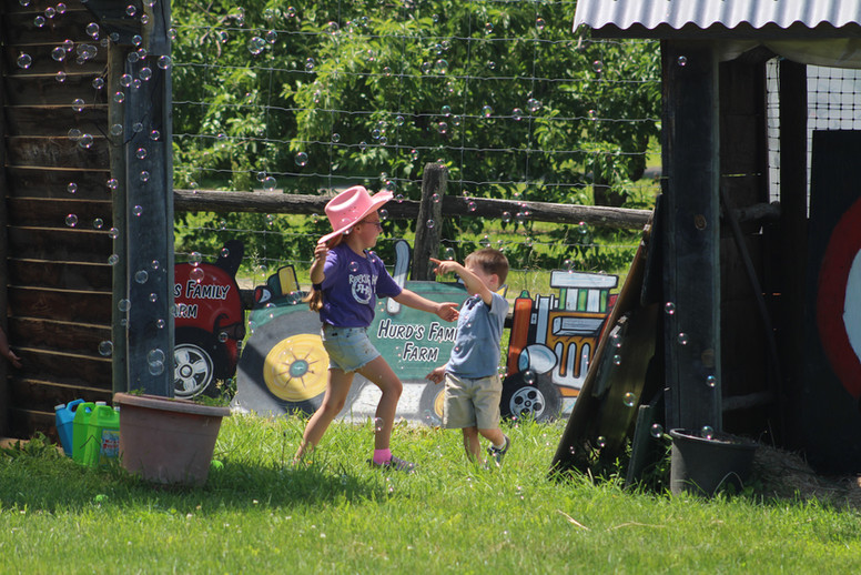 bubbles in the kids corral hudson valley