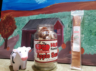 Hurd Happyles (Apple Sauce Fruit Leather)