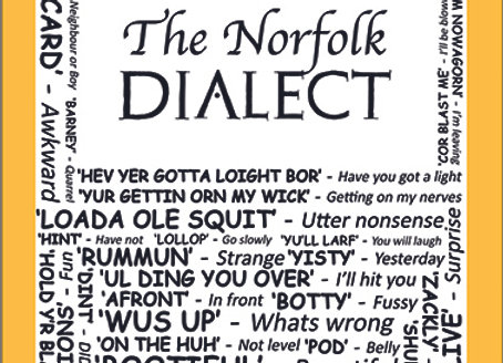 Norfolk: Dialect Tea Towel Pack of 12
