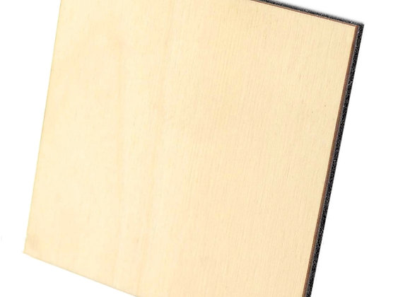 Wooden Square Coaster - Pack of 24