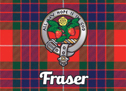 Fraser: Glass Coaster, Pack of 6