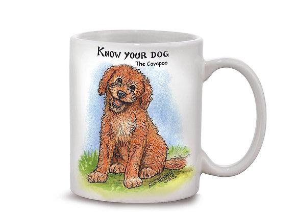 Cavapoo - 11oz Mug - Know Your Dog - Pack of 6