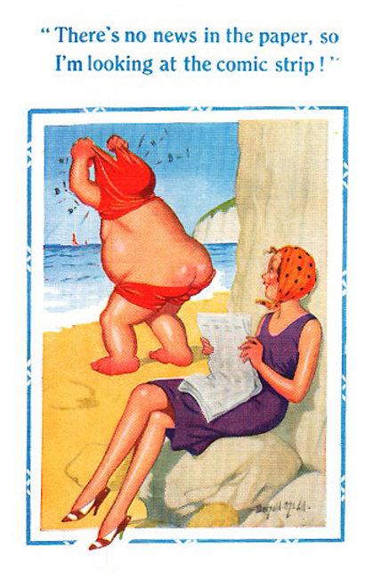 Comic Strip - Donald McGill - Postcards Pack of 48