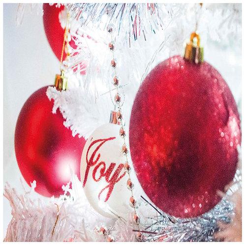 Glass Coaster - Christmas  - Art2glass UK - Pack of 6