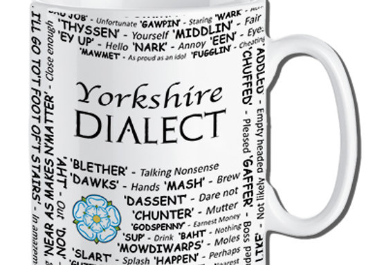 Yorkshire: Dialect Mug Pack of 6