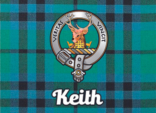 Keith: Glass Coaster, Pack of 6