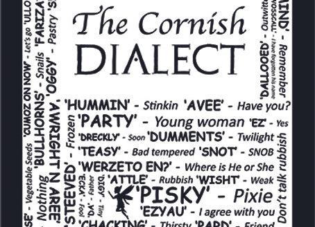 Cornish: Dialect Tea Towel Pack of 12