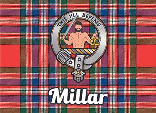 Millar: Glass Coaster, Pack of 6